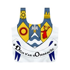 County Clare Coat of Arms Full Print Recycle Bags (M)