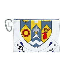 County Clare Coat of Arms Canvas Cosmetic Bag (M)