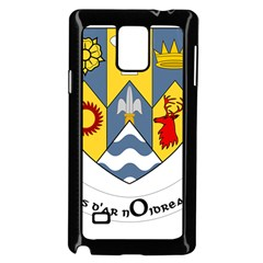 County Clare Coat of Arms Samsung Galaxy Note 4 Case (Black)