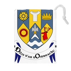 County Clare Coat of Arms Drawstring Pouches (Extra Large)
