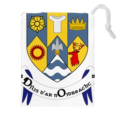 County Clare Coat of Arms Drawstring Pouches (XXL)