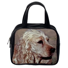 Golden Cocker spaniel Classic Handbags (One Side)