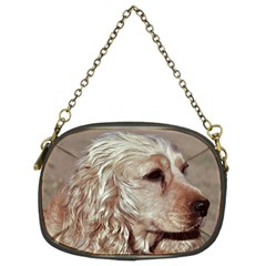 Golden Cocker spaniel Chain Purses (Two Sides)