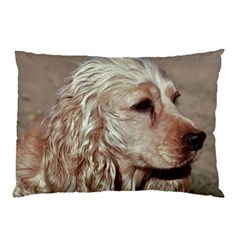 Golden Cocker spaniel Pillow Case