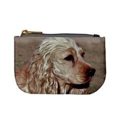Golden Cocker spaniel Mini Coin Purses