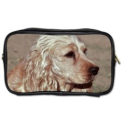 Golden Cocker spaniel Toiletries Bags 2-Side