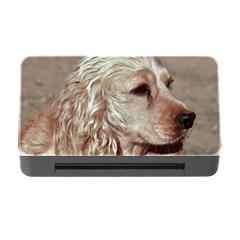 Golden Cocker spaniel Memory Card Reader with CF