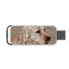 Golden Cocker spaniel Portable USB Flash (Two Sides)