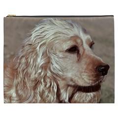 Golden Cocker spaniel Cosmetic Bag (XXXL)