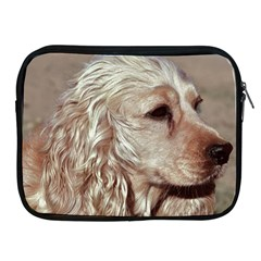 Golden Cocker spaniel Apple iPad 2/3/4 Zipper Cases