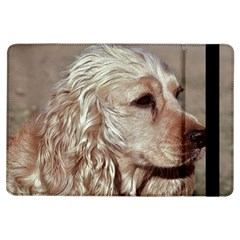 Golden Cocker spaniel iPad Air Flip