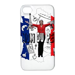 Marine Le Pen Apple iPhone 4/4S Hardshell Case with Stand