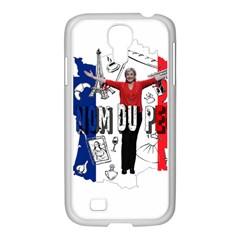 Marine Le Pen Samsung GALAXY S4 I9500/ I9505 Case (White)