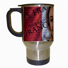 Marine Le Pen Travel Mugs (White)