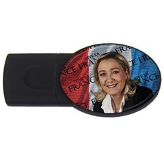 Marine Le Pen Usb Flash Drive Oval (4 Gb)
