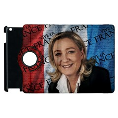 Marine Le Pen Apple iPad 2 Flip 360 Case