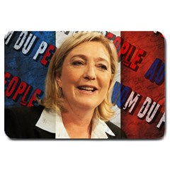 Marine Le Pen Large Doormat