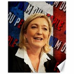 Marine Le Pen Canvas 11  x 14