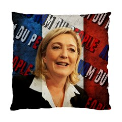 Marine Le Pen Standard Cushion Case (Two Sides)