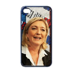 Marine Le Pen Apple iPhone 4 Case (Black)