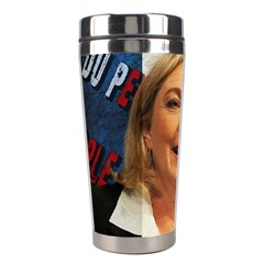 Marine Le Pen Stainless Steel Travel Tumblers