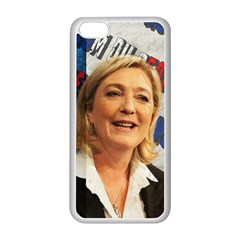 Marine Le Pen Apple iPhone 5C Seamless Case (White)