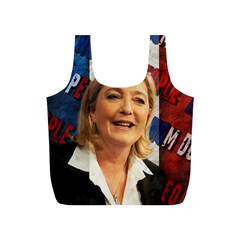Marine Le Pen Full Print Recycle Bags (S)