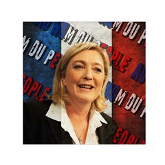 Marine Le Pen Small Satin Scarf (Square)