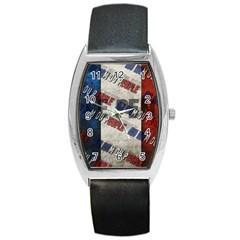 Marine Le Pen Barrel Style Metal Watch