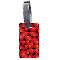Fake Wood Pattern Luggage Tags (Two Sides)