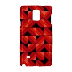 Fake Wood Pattern Samsung Galaxy Note 4 Hardshell Case