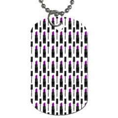Makeup Dog Tag (Two Sides)