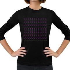 Makeup Women s Long Sleeve Dark T-Shirts