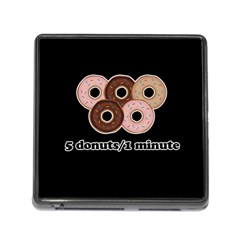 Five donuts in one minute  Memory Card Reader (Square)