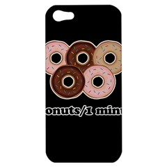 Five donuts in one minute  Apple iPhone 5 Hardshell Case