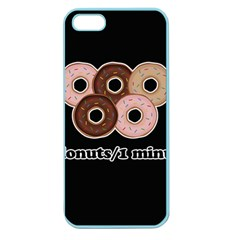 Five donuts in one minute  Apple Seamless iPhone 5 Case (Color)