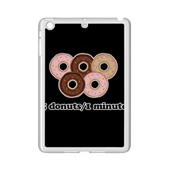 Five donuts in one minute  iPad Mini 2 Enamel Coated Cases