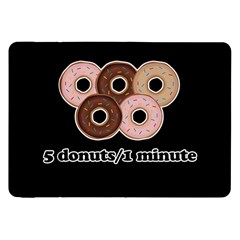 Five donuts in one minute  Samsung Galaxy Tab 8.9  P7300 Flip Case