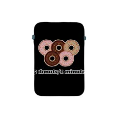Five donuts in one minute  Apple iPad Mini Protective Soft Cases