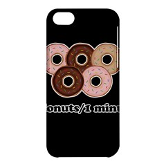 Five donuts in one minute  Apple iPhone 5C Hardshell Case