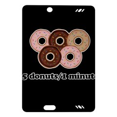 Five donuts in one minute  Amazon Kindle Fire HD (2013) Hardshell Case