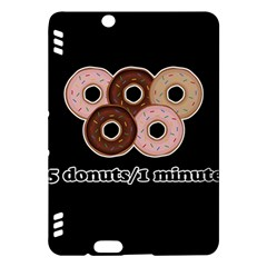 Five donuts in one minute  Kindle Fire HDX Hardshell Case