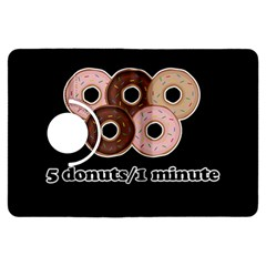 Five donuts in one minute  Kindle Fire HDX Flip 360 Case