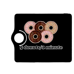 Five donuts in one minute  Kindle Fire HDX 8.9  Flip 360 Case