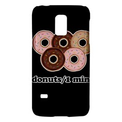 Five donuts in one minute  Galaxy S5 Mini