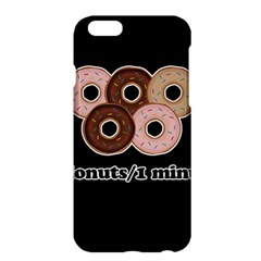 Five donuts in one minute  Apple iPhone 6 Plus/6S Plus Hardshell Case
