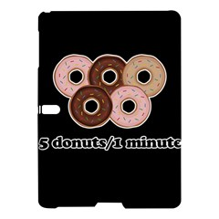 Five donuts in one minute  Samsung Galaxy Tab S (10.5 ) Hardshell Case