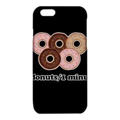 Five donuts in one minute  iPhone 6/6S TPU Case
