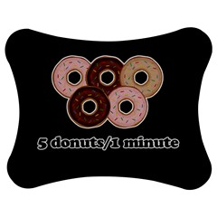 Five donuts in one minute  Jigsaw Puzzle Photo Stand (Bow)