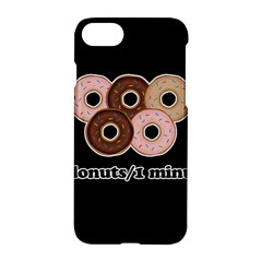Five donuts in one minute  Apple iPhone 7 Hardshell Case
